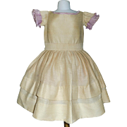 Wonderful Antique Child  / Large Doll Dress