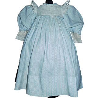 Lovely Antique Doll Dress with Chemise