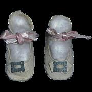 Original Antique Leather Schoenhut Doll Shoes