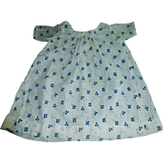 Sweet Early Blue Floral Doll Chemise