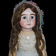 Nice Antique Human Hair Doll Wig, 14
