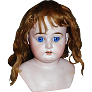 Small Antique Mohair Doll Wig TLC