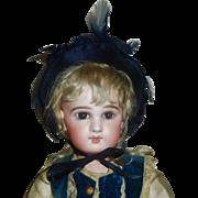 Nice Early Vintage Velvet Doll Bonnet