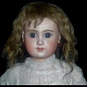 Lovely Dark Blonde Antique Mohair Doll Wig