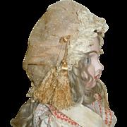 Pretty Antique Doll Bonnet