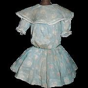 Lovely Antique Drop Waist Doll Dress