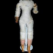 Antique Cloth China Doll Body, TLC