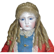 Lovely Fashion Doll Mohair Wig, Size 9