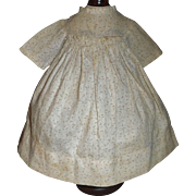 Sweet Small Calico Cotton Doll Dress