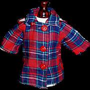 Wonderful Vintage Reversible Doll Coat