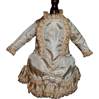 Lovely Vintage French or German Small Bebe Dress