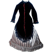 Lovely French Fashion Doll Dress