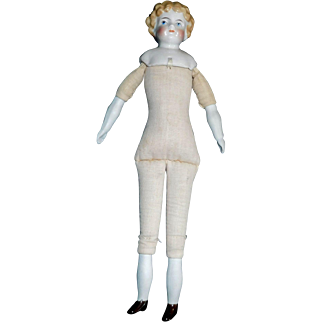 Nice Antique Kling China Head Doll for You to Dress