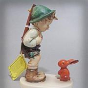 M.I. Hummel Sensitive Hunter Rabbit 6/I Figurine TMK 6 - Red Tag Sale Item