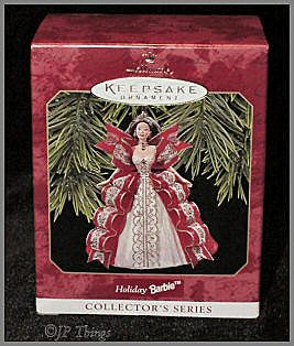 Hallmark Holiday Barbie 1997 Keepsake Ornament