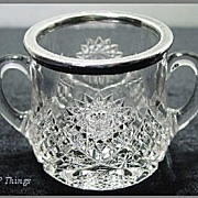 Duncan & Sons No40 Bassettown Sugar Bowl 1891-94 EAPG
