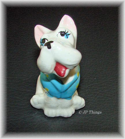 Whimsical Fun Loving Terrier Dog Figurine by Sonsco
