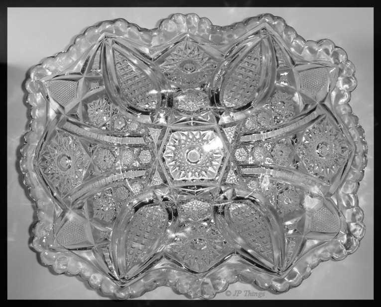 Eapg Indiana Glass 123 Paneled Daisy Amp Fine Cut Scalloped