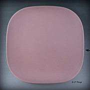 1940 Franciscan Ware Pottery Metropolitan Mauve Bread and Butter Plate