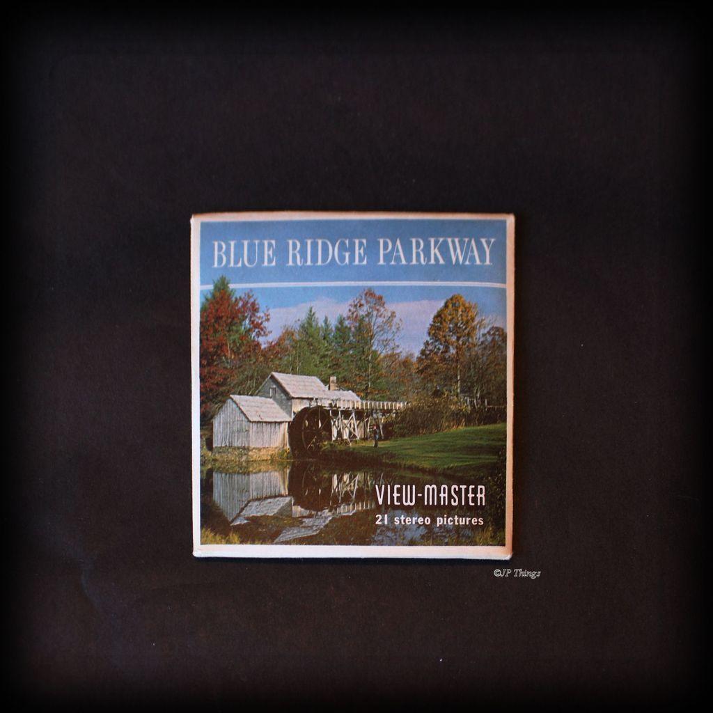 View-Master Sawyer A855 Blue Ridge Parkway Virginia - North Carolina 3 Reel Packet Set