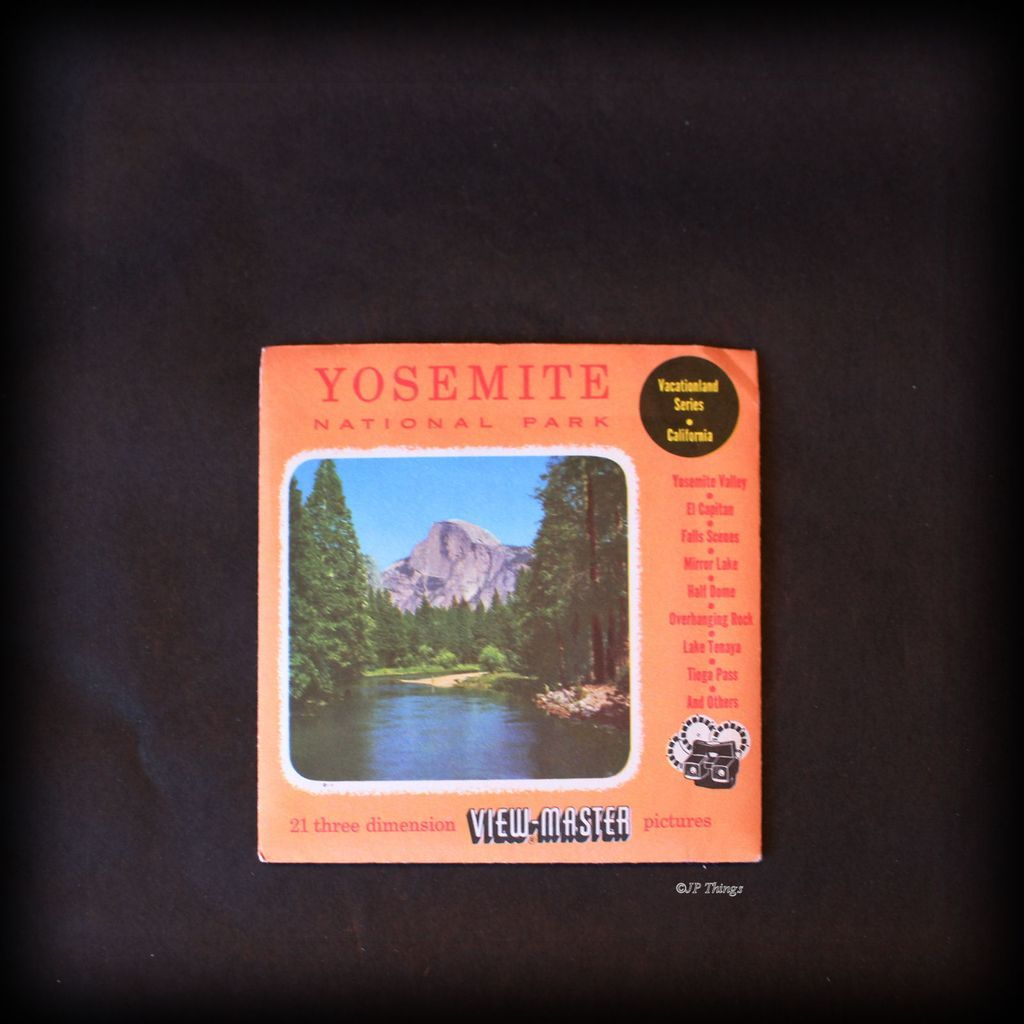 1954 View-Master Sawyer Yosemite National Park Vacationland Series California