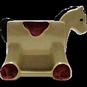 Adorable Shawnee Pottery Hobby Horse Planter U.S.A. 660