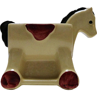 Adorable Shawnee Pottery Hobby Horse Planter U.S.A. 660