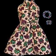 "Vintage Clone Dress for an 11""-12.5"" Fashion Doll, circa 1960s"