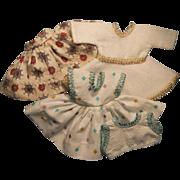 "Vintage 8"" Doll Dress Lot, 1950s"