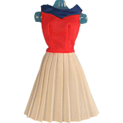 Vintage Barbie Olympic Fashions to Wear on Parade Dress #7244, 1975