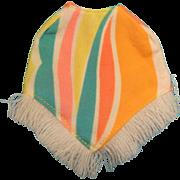 Vintage Dollikin Poncho, 1970s