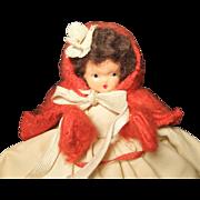 "Vintage 5"" Hollywood Doll, 1940s"