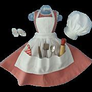Vintage Mattel Barbie-Q Outfit #962, TM, c. 1959