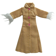 Vintage Clone Fashion Doll Coat, Minty, 1960s