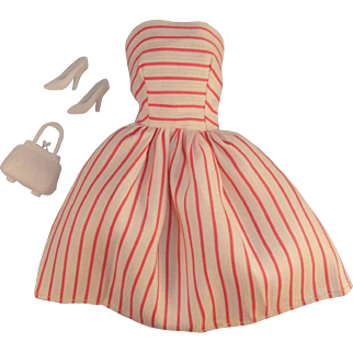 "Vintage Clone Babs Fab Lu, ""Queen of Hearts"" Dress, 1950/60"