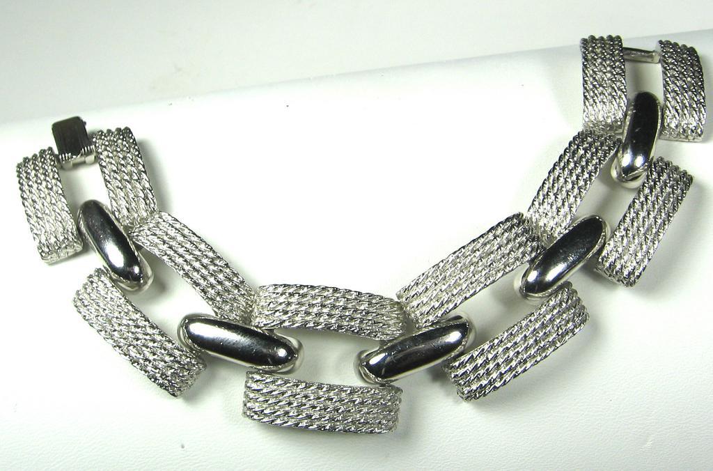 Hattie Carnegie  Silver  Bracelet