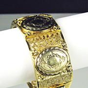 Vintage Hattie Carnegie Locket Bracelet