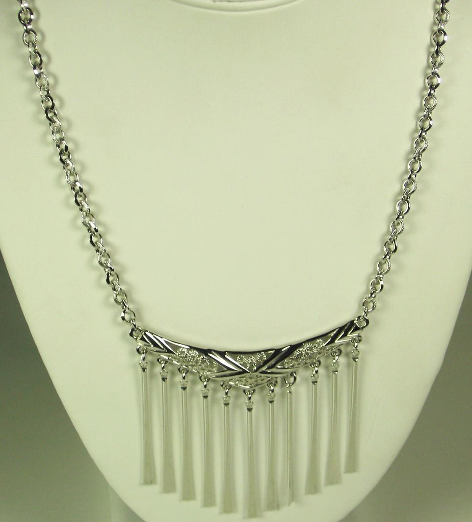 Vintage Emmons Geometric Dangles Necklace