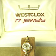 Vintage Westclox 17 Jewel Shock Resistant Watch