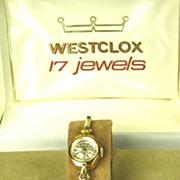 Vintage Westclox 17 Jewel Shock Resistant Watch