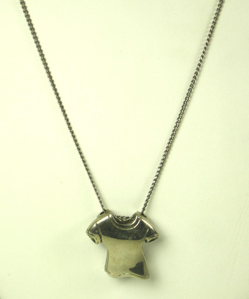 Rare Vintage Hattie Carnegie T-Shirt Necklace