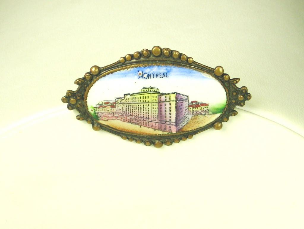Czech Memorabilia Pin of Early Montreal