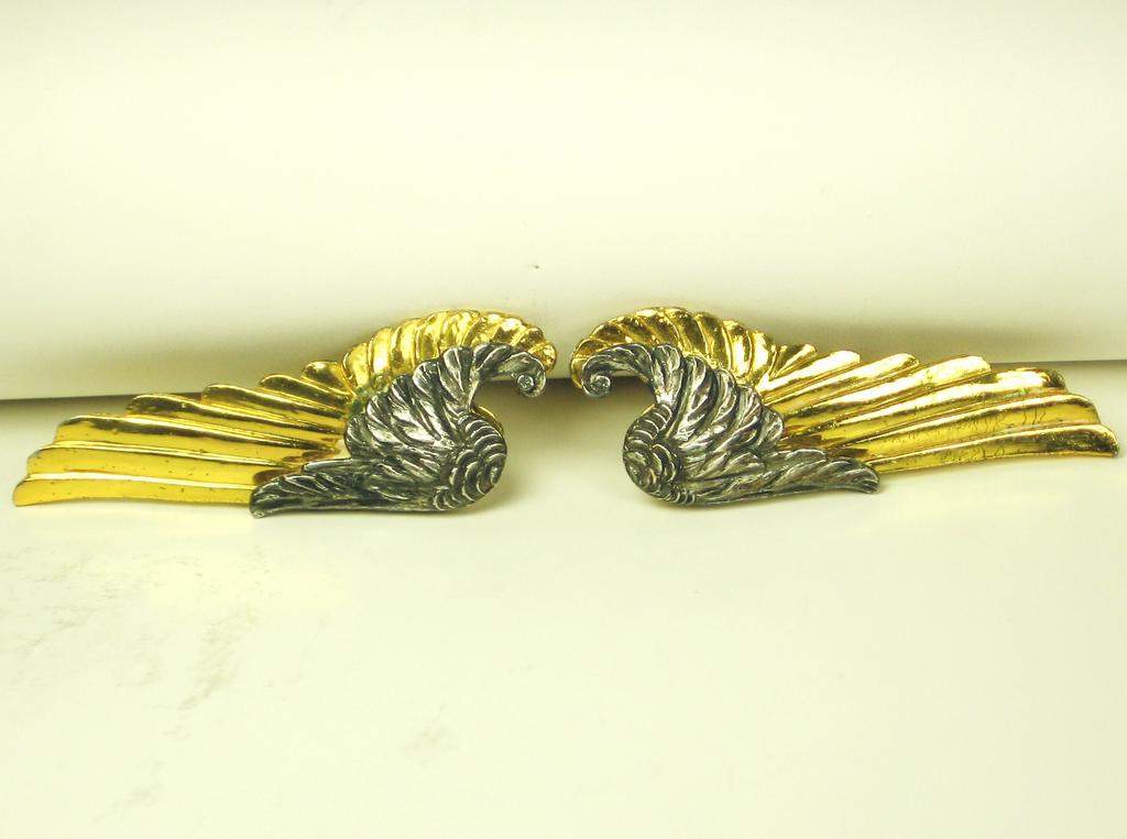 McClelland Barclay World War II Inspired Wing Fur Clips