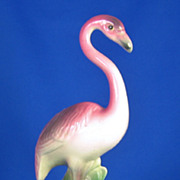 Vintage William Maddux of California Ceramic Flamingo