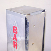 "Continental Manufacturing Co. ""Bar"" Napkin Holder"