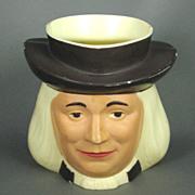 1950 F & F Mold and Die Works Plastic Quaker Oats Mug