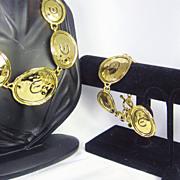 Elizabeth Taylor 22kt Gold Plated Gold Coast Collection FULL Set