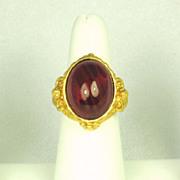 Elizabeth Taylor Avon 1994 Gilded Age Ring