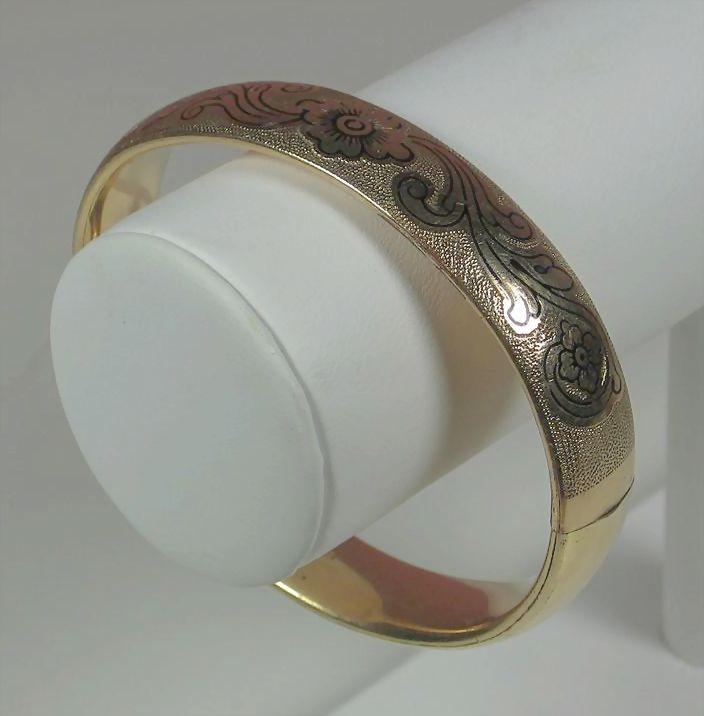 Vintage 12kt Gold Filled J.H. Bracelet