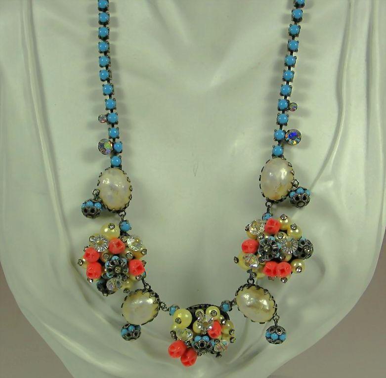 Vintage Hattie Carnegie Imitation Pearl Necklace